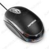 Мышь проводная GM-100 Black проводная, 1000dpi, 3 кнопки, колесо-кнопка, USB, кабель - 115см, 95*55*32мм, 70г