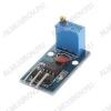 Модуль Генератор импульсов на NE555, Упрощенный модуль регулируемого генератора прямоуг. импульсов Входное напряжение: 5-12В; Входной ток: )=100мА