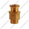Сальник с резьбой 1/2 для ввода кабеля в трубу (51-0610-1)