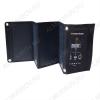Солнечное зарядное устройство 28Вт SLM-28B Выход USB: 5В/2А 3шт.;в развернутом виде 875х290х16 мм., в свернутом виде 290х172х35 мм.;0,70кг, КПД 23%