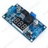 Радиоконструктор Преобразователь DC/DC в 1,25:37В(3А) из 4...40В (LM2596S) Понижающий. C вольтметром. Выходной ток: 2A (3A при использовании радиатора)