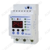 Ограничитель мощности однофазный OM-163 отключает нагрузку при превышении полной, активной, реактивной мощности, действующего тока, максимального и минимального напряжения