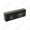 Аккумулятор 12V 2.3Ah GS(L)2.3-12 свинцово-кислотный; 178*33*61+6
