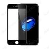 Защитное стекло Apple iPhone 7/8 Plus, 6D, черное