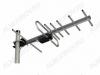 Антенна наружная L025.07DT (Меридиан-07AF TURBO) активная ДМВ/DVB-T2; 30dB; питание 5V от ресивера; без кабеля; F-разъем