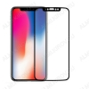 Защитное стекло Apple iPhone X/XS/11Pro, 6D, черное