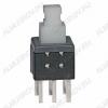 Кнопка PS-580L (с фикс.) 5.8x5.8x10.0mm; 0.1A/30VDC; 6pin