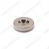 Неодимовый магнит кольцо 20х5 с зенковкой 4.5/10 Сила сцепления 6.6кг; вес 10гр;