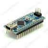 Плата отладочная NANO v.3,  распаянная, ATmega328, Рабочее напряжение: 5 В/14 цифровых портов ввода / вывода (6 поддерживают ШИМ)/Flash память: 32 Кб