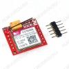 Модуль GSM/GPRS  SIM800L USB-TTL , разъем SIM (4-х диапазонный) GPRS class 12 (85.6 кБс); Напряжение: 3.7 - 4.2 В; Поддержка сети: 4х диапазонная сеть, 900, 1800, 1900; Размер: 2.5 см x 2.3 см; Встроенная антенна;