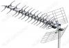 Антенна наружная L025.60DT (Меридиан-60AF TURBO) активная ДМВ/DVB-T2; 36dB; питание 5V от ресивера; без кабеля; F-разъем