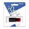 Карта Flash USB 32 Gb (CLICK Black-Red) USB 2.0