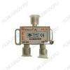 Антенный сумматор МВ/ДМВ+МВ/ДМВ (под F-разъемы) 5-1000 МГц; проход питания на 1 порт