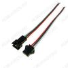 Разъем JST SM 3-pin (штекер+гнездо) (RP05 3pin) с проводами 15 см