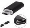 Переходник (5082) MICRO USB B 5pin штекер/USB 3.1 Type C гнездо (OT-SMA08)