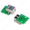 Модуль Плата-переходник USB B (гнездо) Плата с гнездом USB B , и выводом всех контактов разъема с шагом 2.54 мм.