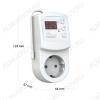 Терморегулятор Terneo RZ 0...+30°С, 16A(3,6кВт), IP20, задержка вкл. 0.5-99 часов,