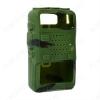 Чехол силиконовый для радиостанции UV-5R зеленый