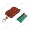 Радиоконструктор Передатчик+приёмник 4 канала 315МГц до 300м, 2262/2272 Питание: 4.5 ~ 7 В; Рабочий ток 4.5 мА; Чувствительность приемника -105 дБ;