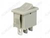 Сетевой выключатель RWB-202 ON-ON серый с фиксацией 19,2*13,0mm; 6A/250V; 3 pin