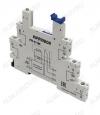 Колодка для реле PYF-011BE.24DC/24DC тип 22.1 1C для 1-контактных тонких интерфейсных реле различных производителей.24 VDC / 24 VDC;6 А при 250 VAC