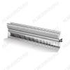 Нагревательный элемент для конвектора 2000Вт(1.0+1.0) серия RE VE  (NCA20) длина 712мм(685мм нагреватель), ширина 110мм (38мм фланец), мощность 2.0 кВт (1000+1000 Вт), напряжение 220-240В, три контакта, материал алюминий