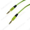 Шнур (TS-3230/OT-AVC13) 3.5 шт стерео/3.5 шт стерео 1.0м тонкий штекер, цветной