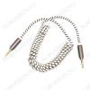 Шнур (TS-3303/OT-AVC18) 3.5 шт стерео/3.5 шт стерео 2.0м тонкий штекер, витой
