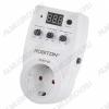 Реле контроля напряжения PH-2 3600Вт (16А); Вх. напряж.: 160-280В; Задержка вкл.: 5-200 сек (шаг 5 сек). С защитой от короткого замыкания и перегрузок