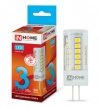 Лампа светодиодная 12В/ 03.0Вт/ G4/ 4000K (дневной белый) (L522) / 270Lm (4690612019796);