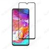 Защитное стекло Samsung A705 Galaxy A70 черное