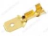 Клемма ножевая (№78) 4.8x0.5 штекер DJ611-4.8B неизолированная сечение 1.0-1.5 мм2