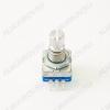 Энкодер а/м 5 pin с кнопкой (37) (R32) крепеж под гайку, L=15мм, металл, накатка