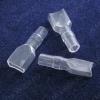 Изолятор для плоской клеммы 6.4x0.8 ножевой неизолированной (DR250-25-26-18) L=26мм