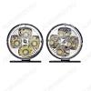 Комплект LED фар (G4159) (2шт) круглые