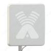 Антенна стационарная ZETA MIMO 2x2 BOX для 3G/4G USB-модема 2G/3G/4G/LTE/WIFI; 1700-2700 MHz; 17.5-20dB; USB-удлинитель 10м; 2 разъема SMA-штекеры в гермобоксе для модема; без адаптеров