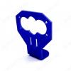 Держатель датчика ультразвукового HC-SR04 синий