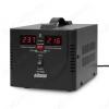 Стабилизатор напряжения AVS-1000D BLACK 1000ВА 1-фазный напольный/настенный Электронный; Uвх=150-280В; Uвых=220В+10%; высоковольт.защита; время регулирования 5-7мс; подключение нагрузки 2 розетки