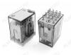 Реле RP-403.ALTU 24VAC   Тип 17 24VAC 4C(4PDT) 5A 26.7*21.5*36mm; блокируемая кнопка проверки + LED индикатор + механический индикатор