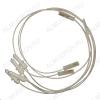 Свечи розжига Gefest (Gefest-4) 1200,1300,3200,3300 с проводами комплект 4шт