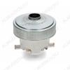 Двигатель пылесоса 1400 Вт D=129, H=121, h=45, N6210820086, 11ME60, E063200380, без юбки, контакты раздельно