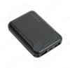 Аккумулятор внешний 10000mAh BT17 RayPower черный выход: 2*USB; 2.0A