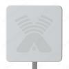 Антенна стационарная ZETA-F MIMO 2x2 для 3G/4G USB-модема 2G/3G/4G/LTE/WIFI; 1700-2700 MHz; 17.5-20dB; без кабеля; 2 разъема F-гнезда