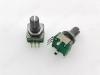 Энкодер а/м 5 pin с кнопкой (39) (R6d) Вал 17 мм, металл, накатка