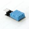 Датчик влажности и температуры DHT11 на плате Модуль с датчиком DHT11 для измерения температуры и относительной влажности окружающего воздуха; светодиодная индикация