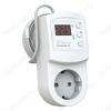 Терморегулятор Terneo RZ 2м 0...+30°С, 16A(3,6кВт), IP20, задержка вкл. 0.5-99 часов, выносной датчик (2метра)