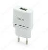 Сетевое зарядное устройство с выходом USB, 1A, белое, C11 Smart;