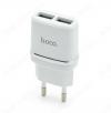 Сетевое зарядное устройство с выходом 2*USB, 2.4А, белое, C12 Smart;