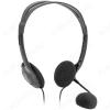 Наушники дуговые с микрофоном Aura 102, черные