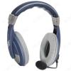 Наушники дуговые с микрофоном Gryphon 750, синие